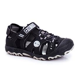 Sandale copii Big Star cu velcro negru FF374210