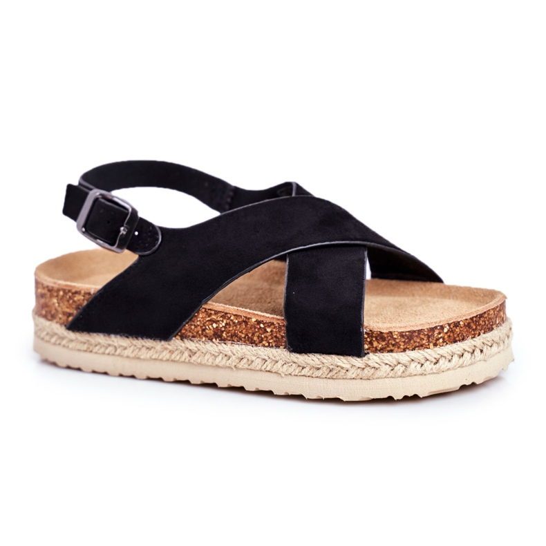 Sandale copii Big Star Black FF374168 negru