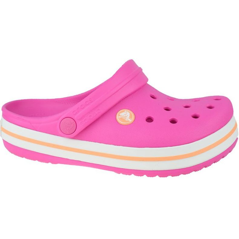 Crocs Crocband Clog K Jr 204537-6QZ roz gri