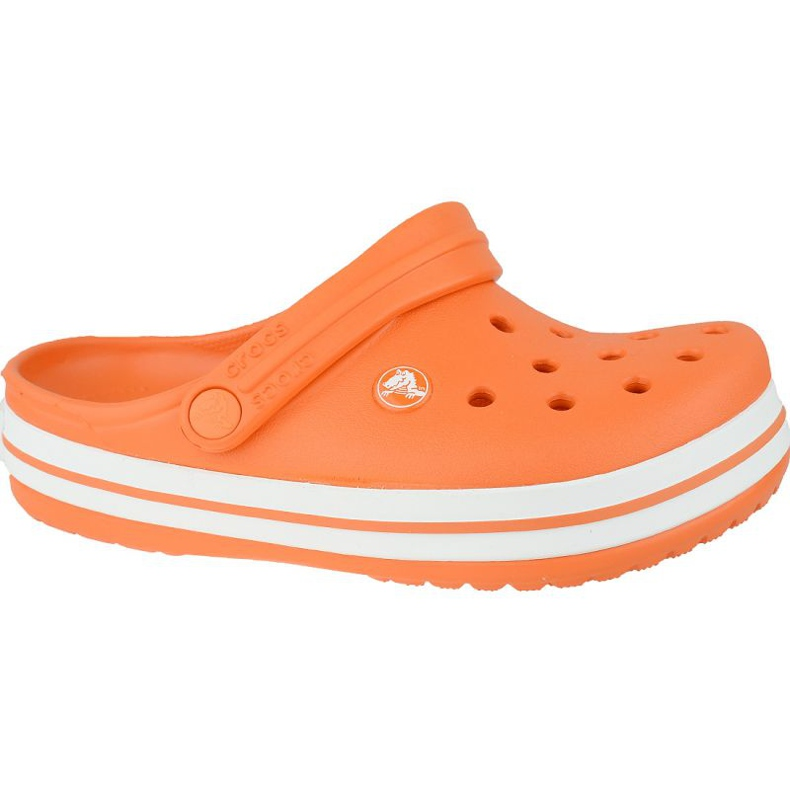 Crocs Crocband Clog K Jr 204537-810 portocale gri
