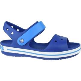 Sandale Crocs Crocband Jr 12856-4BX albastru marin
