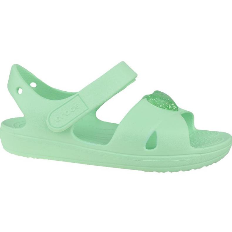 Sandală Crocs Classic Cross-Strap K 206245-3TI albastru