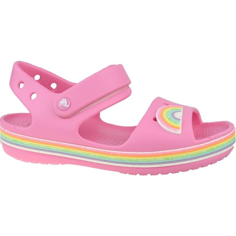 Sandală Crocs Imagination Ps 206145-669 negru roz