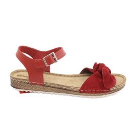 Pantofi pentru femei Comfort Inblu 158D117 roșu