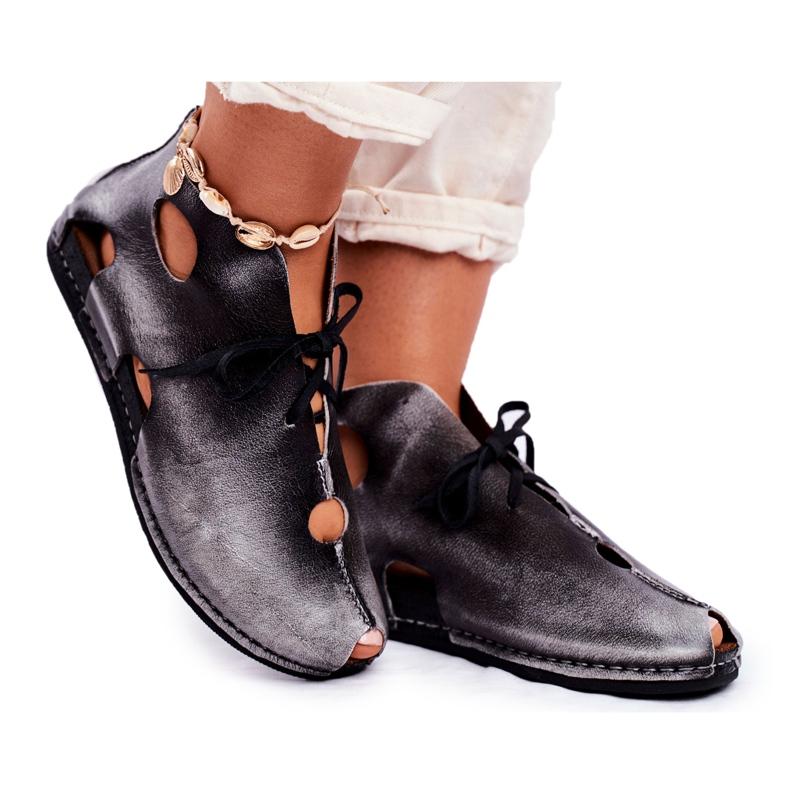 Pantofi pentru femei Maciejka Popiel 03426-03 gri