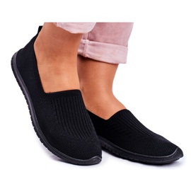 NEWS Adidași de dama Kaontre cu pantofi negri negru
