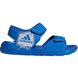 Sandale pentru copii Adidas Alta Swim C BA9289 albastru