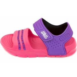 Papuci de piscină copii Aqua-speed Noli roz-violet col. 39