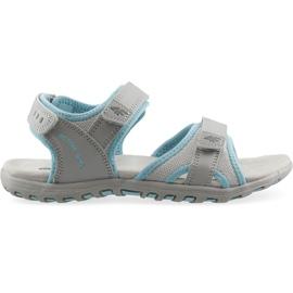 Sandale fete 4F multicolor J4L19 JSAD206 90S albastru gri