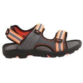 Sandale pentru băiat 4F multicolor HJL20 JSAM003 90S gri