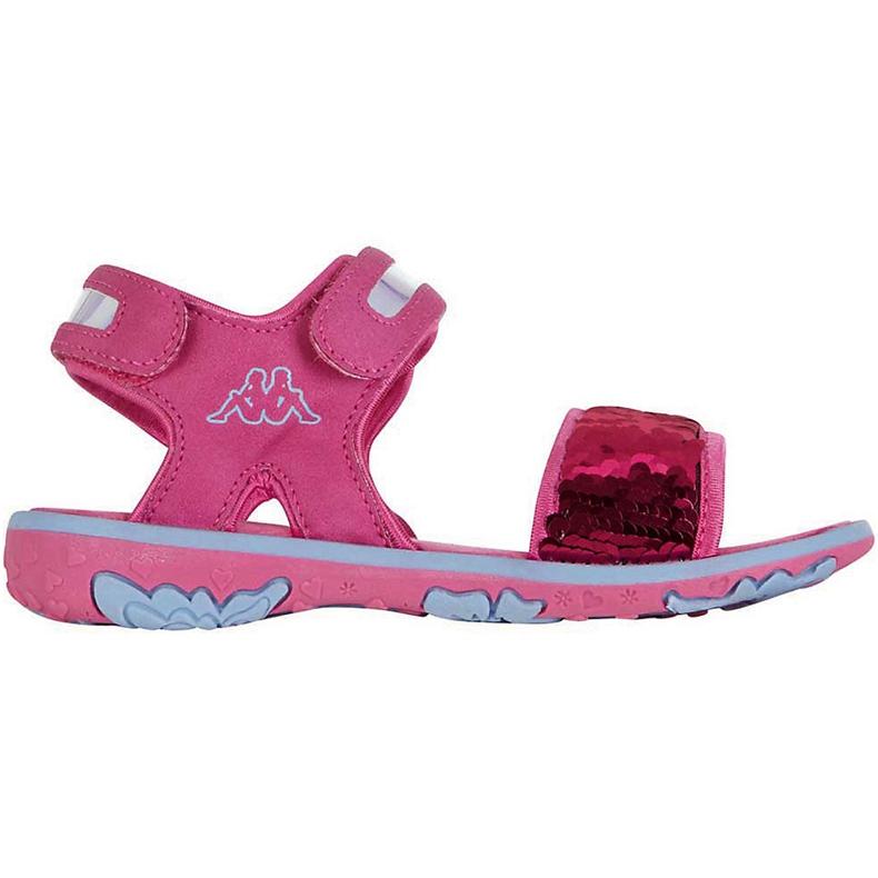 Kappa Seaqueen K încălțăminte Sandale pentru copii roz-albastru 260767K 2260