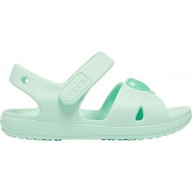 Sandale pentru copii Crocs Sandale Classic Cross Strap Ps neo mint 206245 3TI verde
