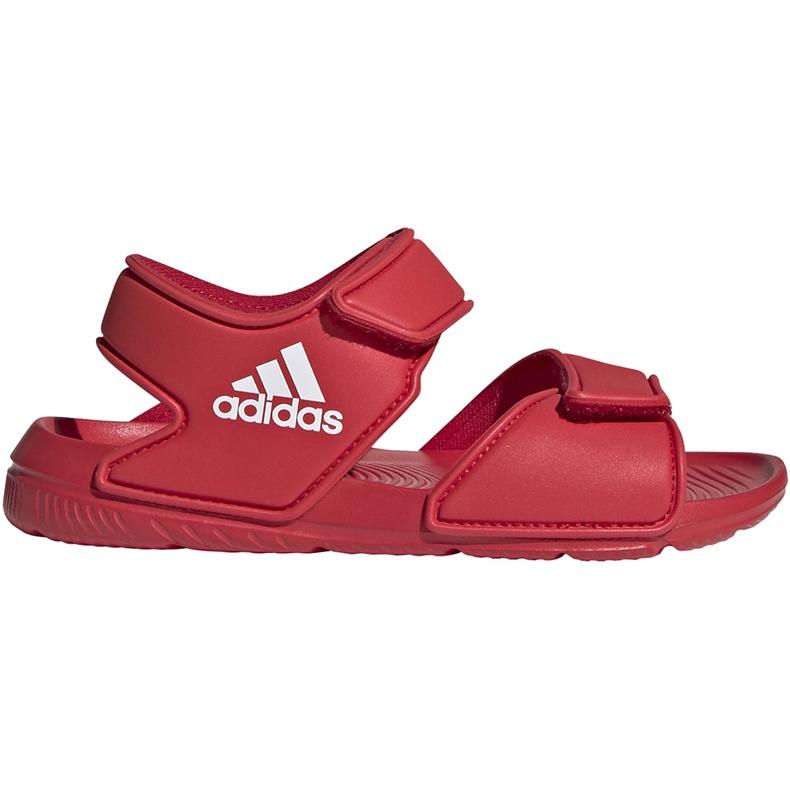 Sandale pentru copii adidas Altaswim C roșu EG2136