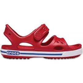 Sandale Crocs pentru copii Crocband Ii Sandal Ps Kids roșu-albastru 14854 6OE