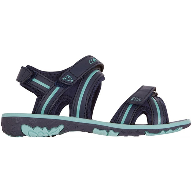Sandale pentru copii Kappa Breezy Ii K încălțăminte copii bleumarin-menta 260679K 6737 albastru marin