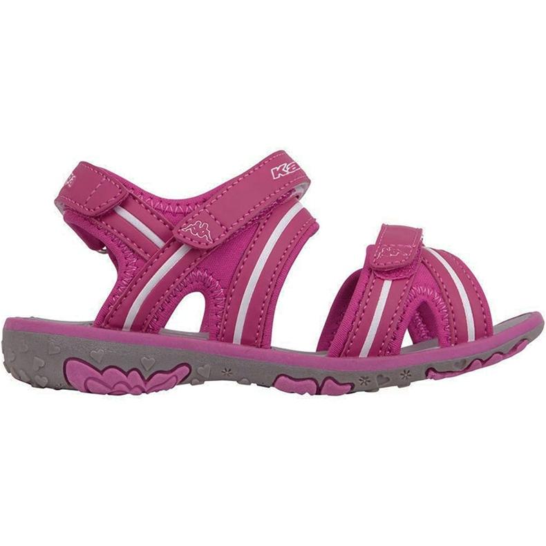 Kappa Breezy Ii K încălțăminte Sandale pentru copii roz-alb 260679K 2210