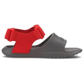 Sandale pentru copii Puma Divecat v2 Injex Ps gri-roșu 369546 05