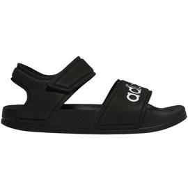 Sandale negre Adidas Adilette Sandal K pentru copii G26879 negru