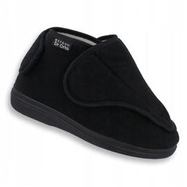 Befado femei pantofi pu orto 163D002 negru 1
