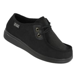 Befado femei pantofi pu 871D004 negru 1