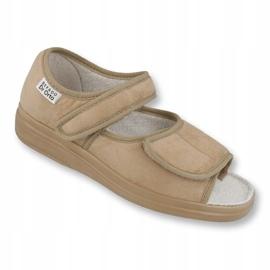 Befado femei pantofi 989D003 maro 1