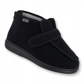 Befado femei pantofi pu orto 987D002 negru 1