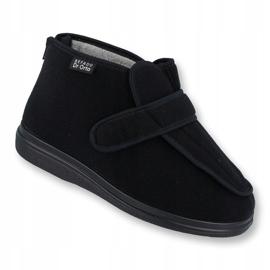 Befado bărbați pantofi pu orto 987M002 negru 1