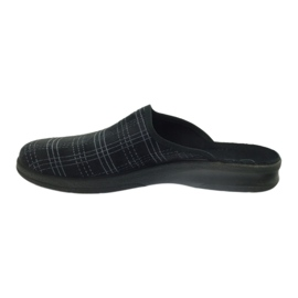 Befado Bepado bărbați papuci papuci papuci 548m011 negru 2