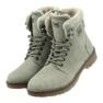 Pantofi gri, panglici DK2025 imagine 3
