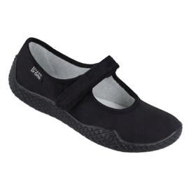 Befado femei pantofi - tineri 197D002 negru 1
