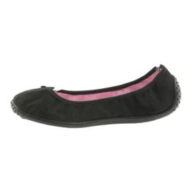 Pantofi pentru balerini Befado pentru femei 893Q093 negru 2