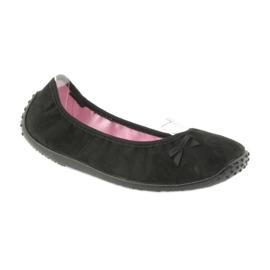 Pantofi pentru balerini Befado pentru femei 893Q093 negru 1
