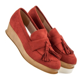 Corina Roșu Loafers On Wedge 2