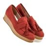 Corina Roșu Loafers On Wedge imagine 2