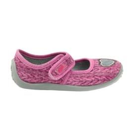 Pantofi de copii Befado 945X325 roz 1