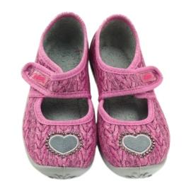 Pantofi de copii Befado 945X325 roz 4