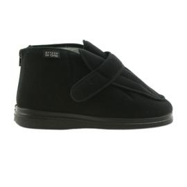 Befado bărbați pantofi pu orto 987M002 negru 2