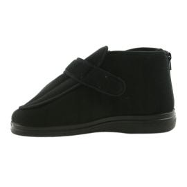 Befado bărbați pantofi pu orto 987M002 negru 4