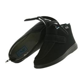 Befado bărbați pantofi pu orto 987M002 negru 6