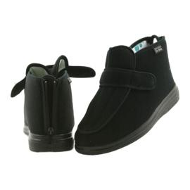Befado bărbați pantofi pu orto 987M002 negru 7