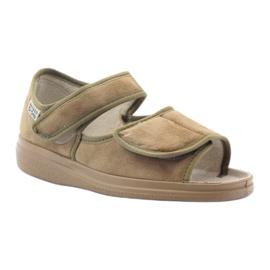 Befado femei pantofi 989D003 maro 2