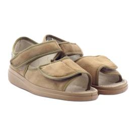 Befado femei pantofi 989D003 maro 5
