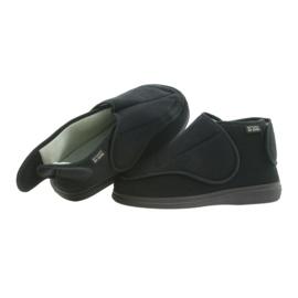 Befado femei pantofi pu orto 163D002 negru 5