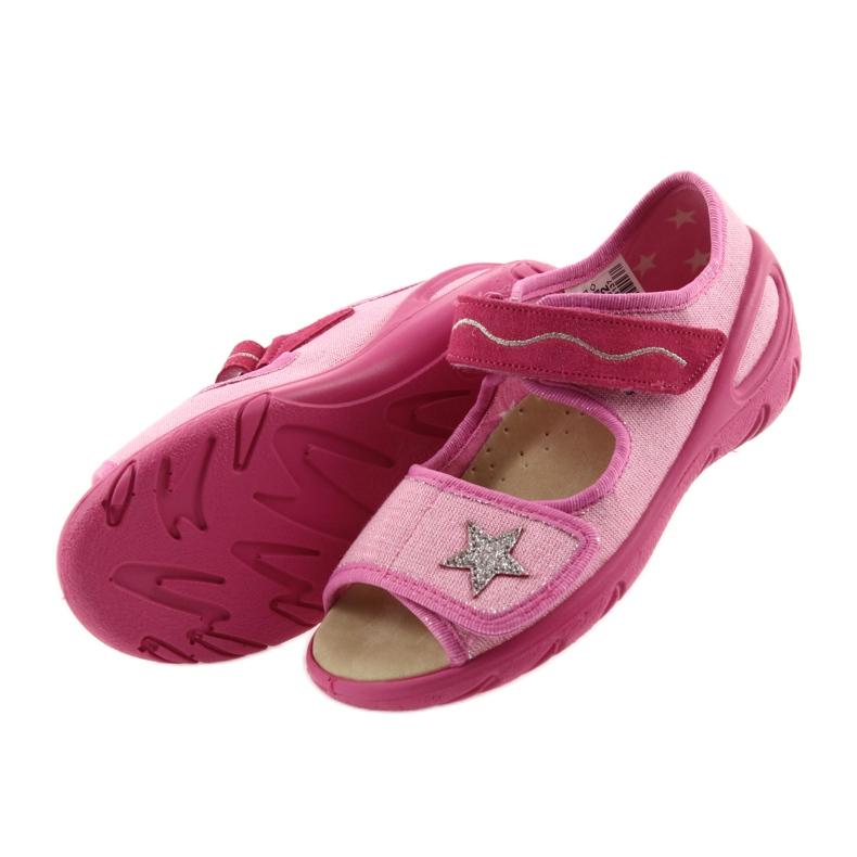 Roz Pantofi de copii Befado pu 433X032 imagine 5