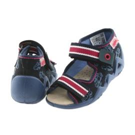 Befado galben pantofi pentru copii 350P003 bleumarin 5