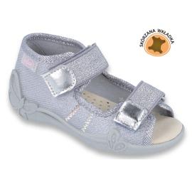 Pantofi de copii galbeni de la Befado 342P002 gri 1