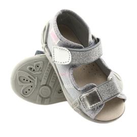 Befado pantofi pentru copii 342P002 argintiu gri 3