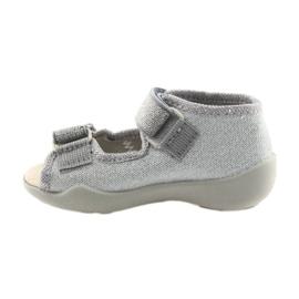 Befado pantofi pentru copii 342P002 argintiu gri 2