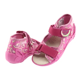 Pantofi pentru copii galbeni de la Befado 342P004 roz 5