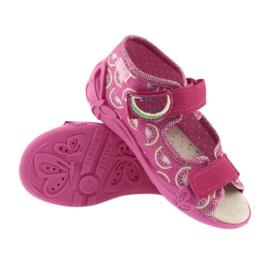 Pantofi pentru copii galbeni de la Befado 342P004 roz 4